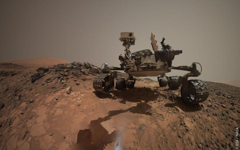 Curiosity, primer equipo de SENER en Marte